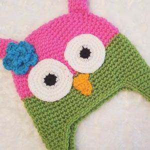 Other - 🦉Soo cute! This knit owl hat is adorable!🦉